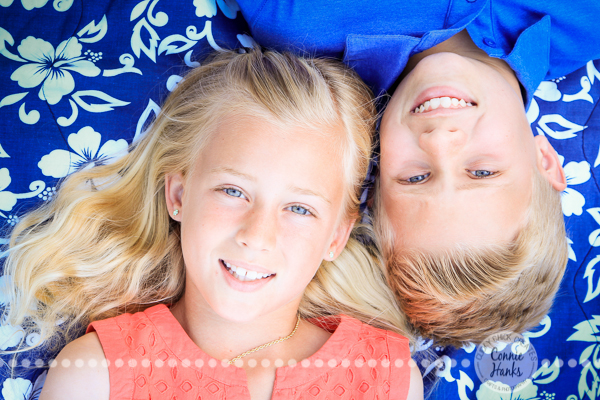 Connie Hanks Photography // ClickyChickCreates.com // Sibling photo session, Balboa Park, tweens, posh, fresh, all-American,