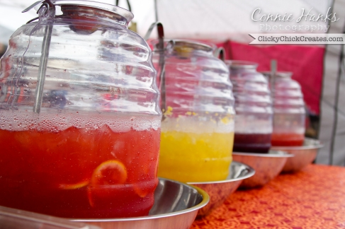 Connie Hanks Photography  //  ClickyChickCreates.com  //  Aguas frescas at farmer's market