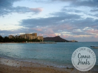 Connie Hanks Photography // ClickyChickCreates.com // horizon photo in Oahu, Hawaii