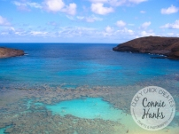 Connie Hanks Photography // ClickyChickCreates.com // Hanauma Bay in Oahu, Hawaii