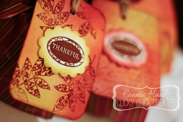 Connie Hanks // ClickyChickCreates.com // Thanksgiving tags