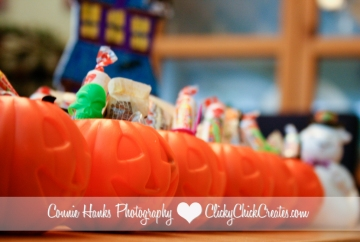 Connie Hanks Photography // ClickyChickCreates.com // Halloween treats