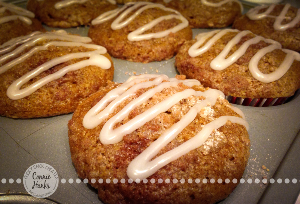 Connie Hanks Photography // ClickyChickCreates.com // pumpkin muffins