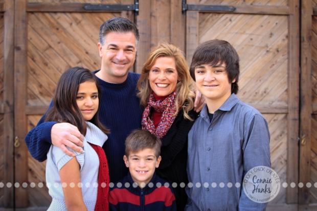 Connie Hanks Photography // ClickyChickCreates.com // family photos, rustic location, posh kids, trains