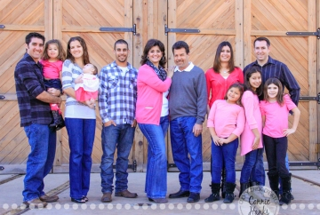Connie Hanks Photography // ClickyChickCreates.com // 3 generations, rustic park, outdoors, trains, tracks, pink, love!