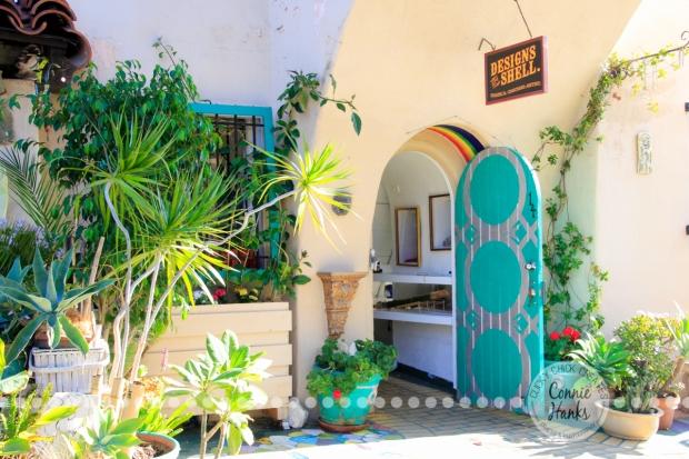 Connie Hanks Photography // ClickyChickCreates.com // doors of Balboa Park, Spanish Village, International Cottages, Junior Theater