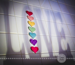 Connie Hanks Photography // ClickyChickCreates.com // Love Shadow with hearts