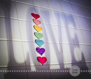 Connie Hanks Photography // ClickyChickCreates.com // Love Shadow with hearts