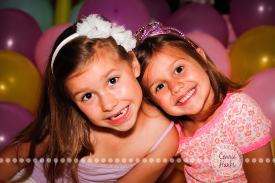 Connie Hanks Photography // ClickyChickCreates.com // Birthday balloon princess