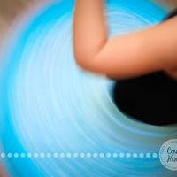 Twist // Blue Spin {Photo Challenge}