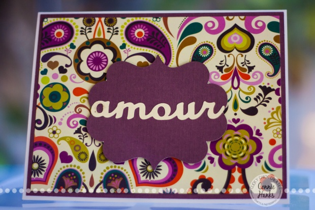 ClickyChickCreates.com // amour card