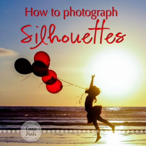 Connie Hanks Photography // ClickyChickCreates.com // How to Photograph Silhouettes tutorial, how-to, photo tips