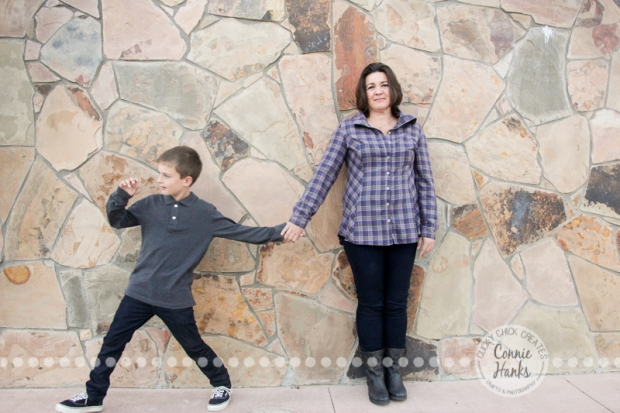 Connie Hanks Photography // ClickyChickCreates.com // Family Photography, park, playground, grass, coordinated family, gray, purple, lavender, lovely