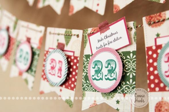 Connie Hanks Photography // ClickyChickCreates.com // Advent calendar, Christmas, Etsy, activity, experience, family, Carta Bella, paper crafting
