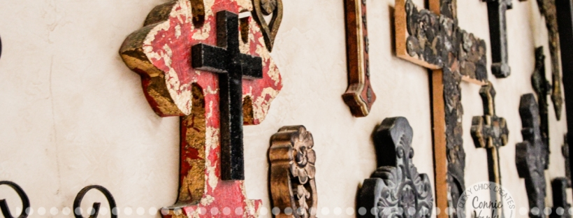 Connie Hanks Photography // ClickyChickCreates.com // Wall of Crosses, Villa, Rosarito