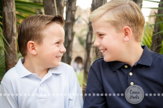 Connie Hanks Photography // ClickyChickCreates.com // Family of four, photo session, sons, parents, Balboa park, boys