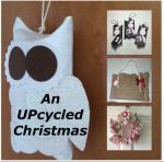 An UPcycled Christmas sq