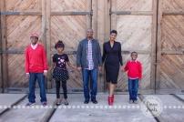 Connie Hanks Photography // ClickyChickCreates.com // Family photography, San Diego, F Family, Old Poway Park, train tracks, rustic, park