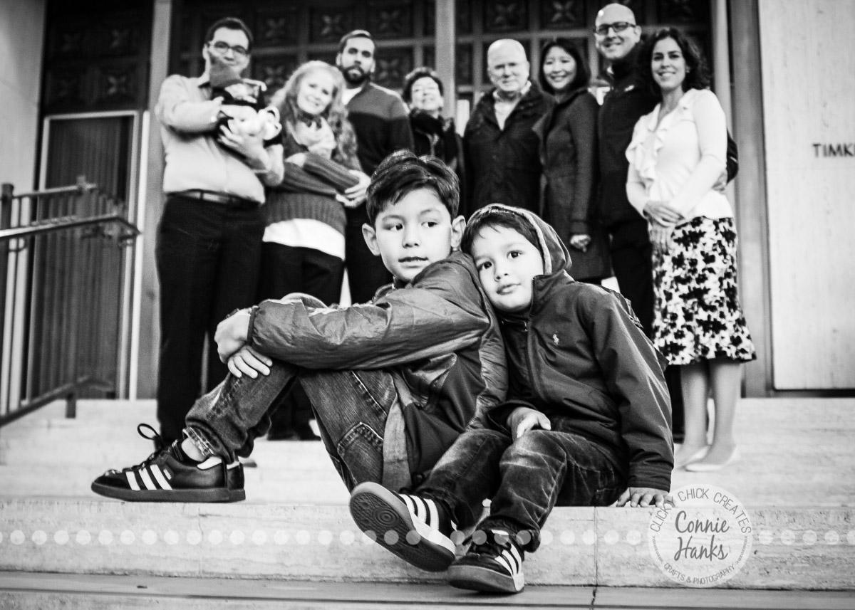 Connie Hanks Photography // ClickyChickCreates.com // Multi-generation family photo session at Balboa Park, San Diego, CA