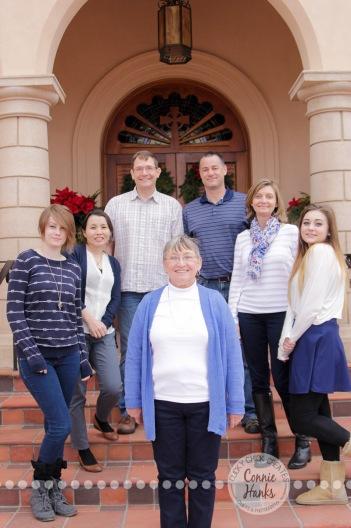 Connie Hanks Photography // ClickyChickCreates.com // Multi-generation family photo session in La Jolla, San Diego, CA