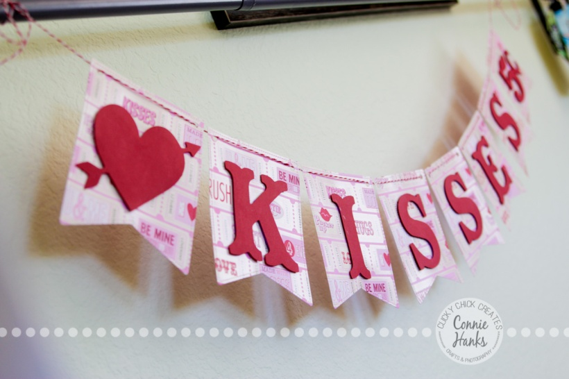 Connie Hanks Photography // ClickyChickCreates.com // Valentine Banner, Etsy, heart, cupid, xoxo, be mine, amour, amor, amore, kisses, love, fall in love