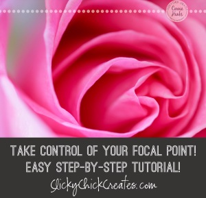 Connie Hanks Photography // ClickyChickCreates.com // how to adjust focal point, manually, tutorial, step-by-step,