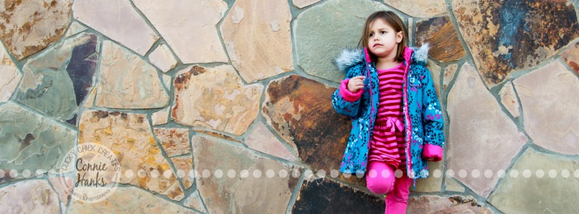 Connie Hanks Photography // ClickyChickCreates.com // child kid photography, locations, unexpected, wall