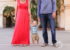 Connie Hanks Photography // ClickyChickCreates.com // family photography at Balboa Park, San Diego, California