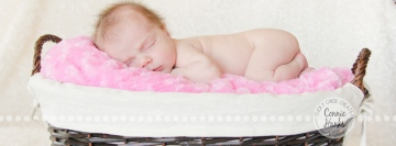 Connie Hanks Photography // ClickyChickCreates.com // baby girl newborn photo session - sleeping baby