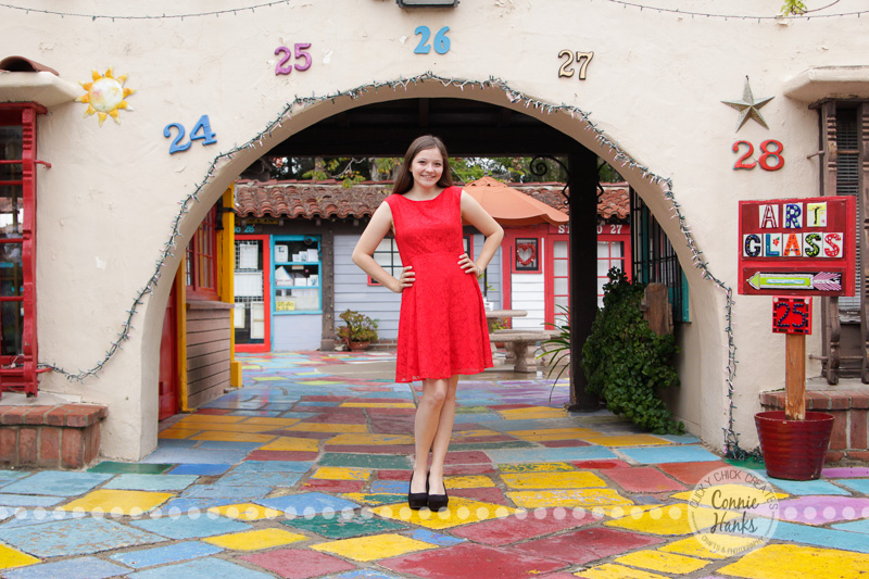 Connie Hanks Photography // ClickyChickCreates.com // senior portrait photo session in Balboa Park