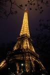 Connie Hanks Photography // ClickyChickCreates.com // Eiffel Tower night sky edit - SOOC