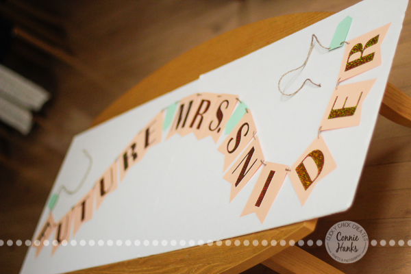 Connie Hanks Photography // ClickyChickCreates.com // wedding, bridal shower, bachelorette, party banners for sale on Etsy, future Mrs.