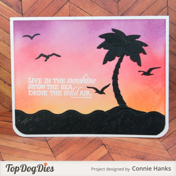 Connie Hanks Photography // ClickyChickCreates.com // handmade cards using Top Dog Dies