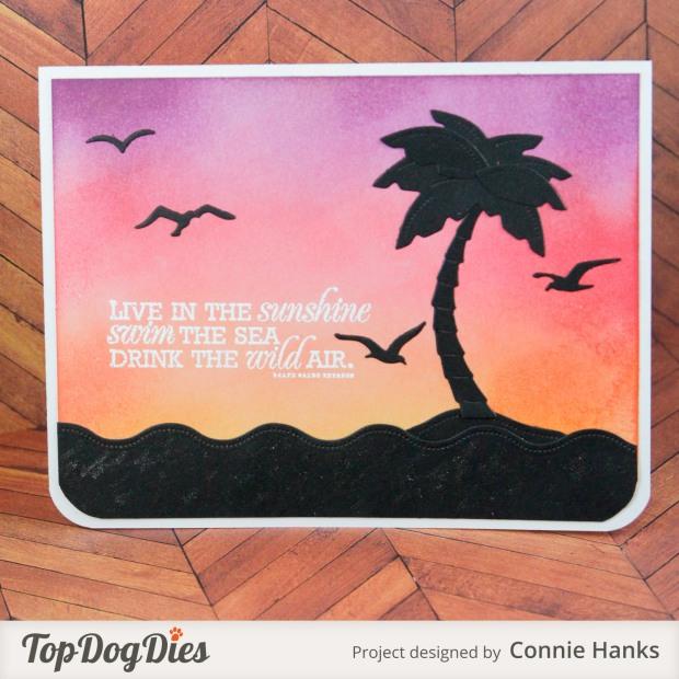 Connie Hanks Photography // ClickyChickCreates.com // handmade cards using Top Dog Dies