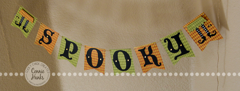 Connie Hanks Photography // ClickyChickCreates.com // Spooky wicked witch banner using Top Dog Dies