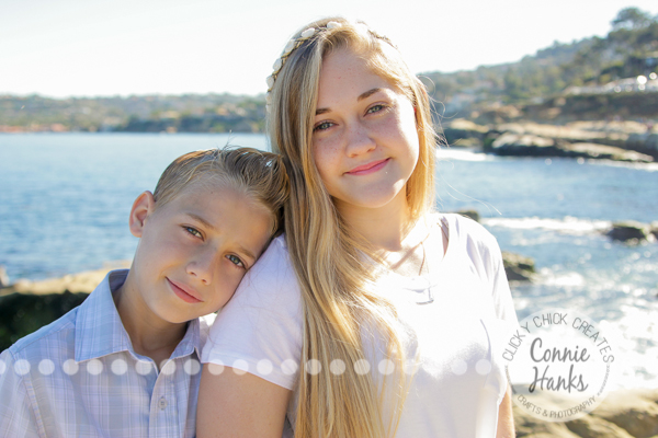Connie Hanks Photography // ClickyChickCreates.com // San Diego family photo session, family photos,, La Jolla, beach, real photos, family candids