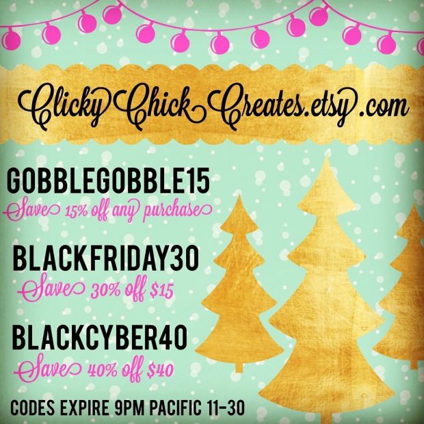 Connie Hanks Photography // ClickyChickCreates.com // Black Friday Cyber Monday Deals
