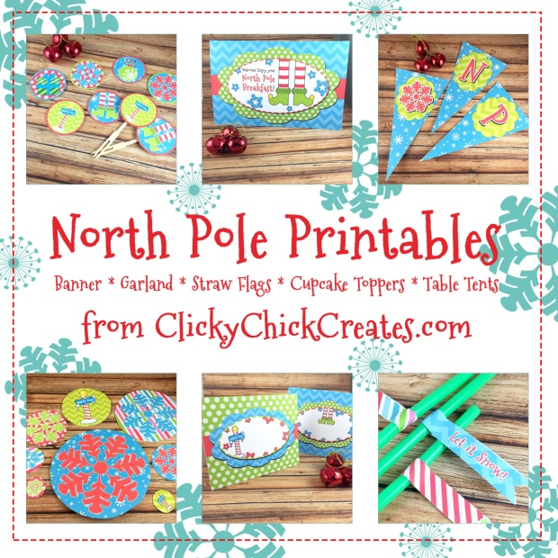 Connie Hanks Photography // ClickyChickCreates.com // North Pole Breakfast Printable available on Etsy