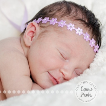 Connie Hanks Photography // ClickyChickCreates.com // San Diego newborn photography, family photo session, family photography, baby girl