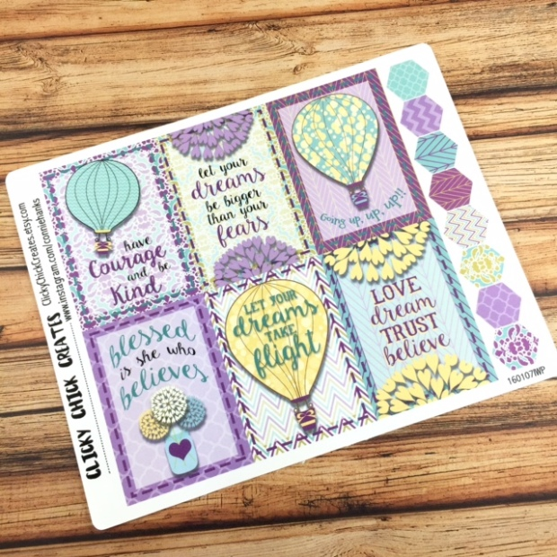 Connie Hanks Photography // ClickyChickCreates.com // planner stickers - inkwell press - gelato collection