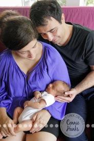 Connie Hanks Photography // ClickyChickCreates.com // newborn, San Diego newborn photography, family photo session, family photography, baby boy, siblings, multi-generational