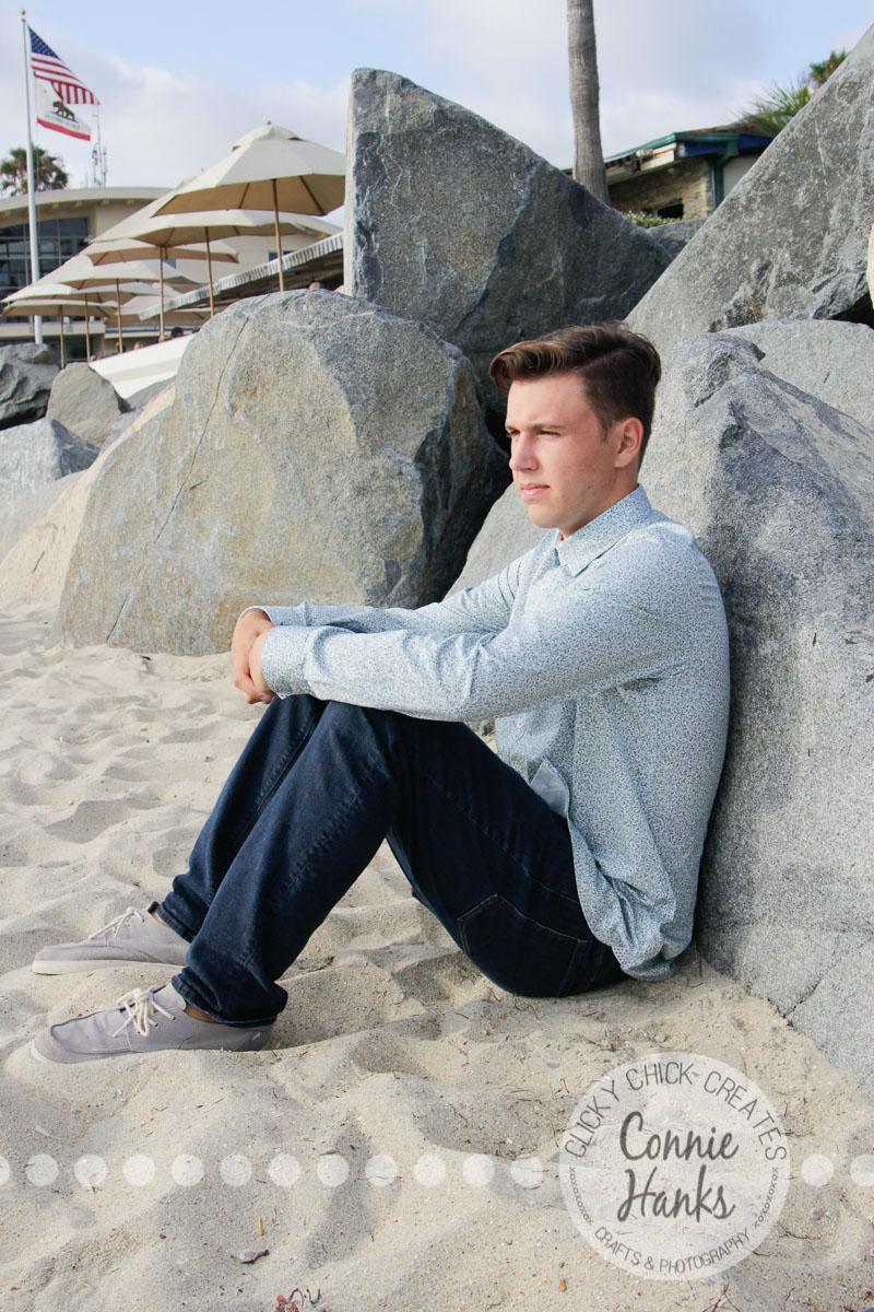 Connie Hanks Photography // ClickyChickCreates.com // senior photo session, senior portrait, beach photos, San Diego senior portrait photography, senior portraits photo session, beach photography, San Diego senior photography