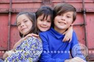 Connie Hanks Photography // ClickyChickCreates.com // family photos, sibling photos, sibling poses, San Diego family photography, family photo session, family photography, rustic park photography, brothers, sisters, siblings
