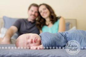 Connie Hanks Photography // ClickyChickCreates.com // newborn, baby photos, San Diego newborn photography, family photo session, family photography, baby boy, family