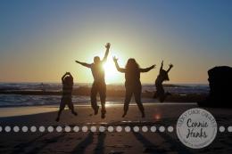 Connie Hanks Photography // ClickyChickCreates.com // family photos, San Diego family photography, family photo session, beach photography, beach sunset photography