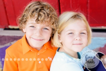 Connie Hanks Photography // ClickyChickCreates.com // family photos, San Diego family photography, family photo session, family photography, colorful doors, Spanish Village, Balboa Park