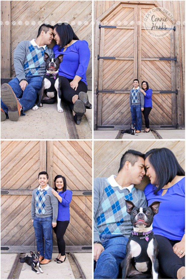 Connie Hanks Photography // ClickyChickCreates.com // family photos, San Diego family photography, family & pet photo session, rustic park photography, pet photography