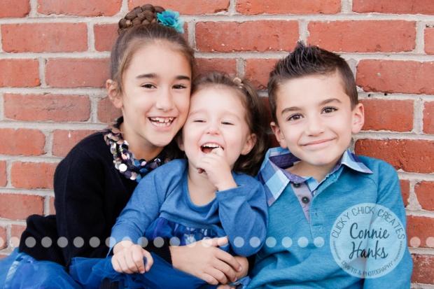 Connie Hanks Photography // ClickyChickCreates.com // family photos, San Diego family photography, family photo session, family photography, siblings, colorful doors, Little Italy, urban landscape, cityscape
