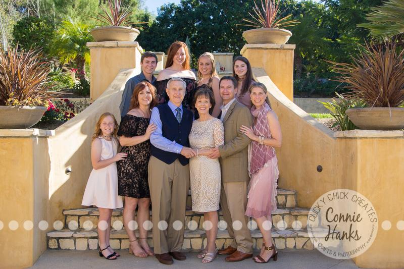 Connie Hanks Photography // ClickyChickCreates.com // family photos, San Diego family photography, multi-generation family photo session, extended family photography, siblings, Rancho Santa Fe