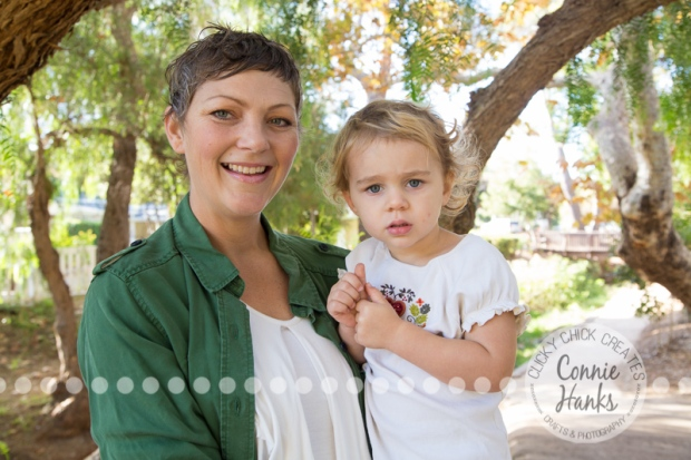 Connie Hanks Photography // ClickyChickCreates.com // family photos, San Diego family photography, family photo session, siblings, rustic, Old Poway Park, barn doors